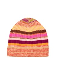 Missoni Striped Ribbed Knit Hat
