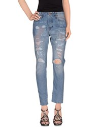 Grifoni Denim Denim Trousers Women Blue