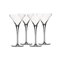 Spiegelau Set Of 4 Willsberger Martini Glasses