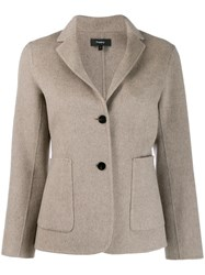 Theory Classic Fitted Blazer Neutrals