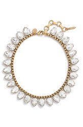 Loren Hope Women's 'Sylvia' Crystal Collar Necklace