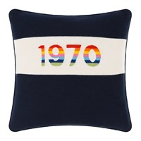 Bella Freud 1970 Cushion Navy