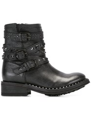 Ash 'Tatum' Biker Boot Black