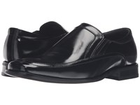 Stacy Adams Felton Moc Toe Double Black Men's Slip On Dress Shoes