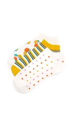 Kate Spade Orangerie Sock Set Cream Multi