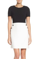 Maggy London Women's Colorblock A Line Dress