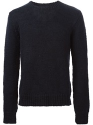 Our Legacy Crew Neck Sweater Blue