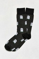 Urban Outfitters Epitaph Sock Charcoal