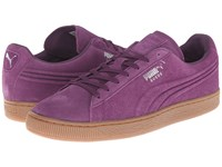 Puma The Suede Emboss Italian Plum Gum Men's Shoes Pink