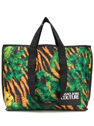 Versace Jeans Couture Jungle Print Tote Bag 60