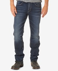 Silver Jeans Co. Men's Grayson Easy Fit Straight Stretch Indigo