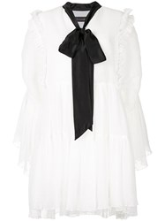 Romance Was Born Purity Dress Silk Polyester White