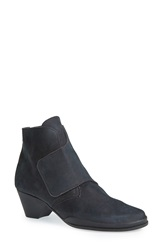 Arche 'Getkys' Water Resistant Ankle Boot Women Grey Nubuck Leather