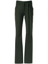 Giuliana Romanno Wide Leg Trousers Green