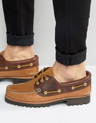 Timberland Classic Lug Boat Shoes Brown