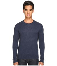 Jack Spade Jersey Stitch Crew Neck Sweater Dark Navy Men's Sweater
