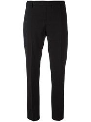 Rick Owens Straight Leg Tailored Trousers Black