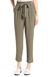 Women's Astr Silk Blend Crop Pants