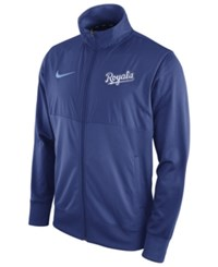 Nike Men's Kansas City Royals Track Jacket Royalblue