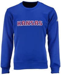 Adidas Men's Kansas Jayhawks Mark My Words Sweatshirt Royal Blue