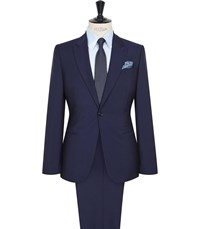 Reiss Burrow Modern Fit Suit In Bright Blue