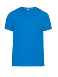 Orlebar Brown Alex Ii Cotton T Shirt Blue
