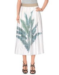 Coast Weber And Ahaus Skirts 3 4 Length Skirts Women White