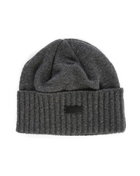 Nixon Grey Lux Recycled Cashmere Hat Made In Canada