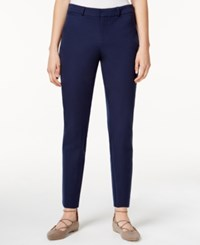 Maison Jules Slim Fit Ankle Pants Only At Macy's Blu Notte