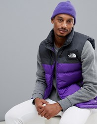 The North Face 1992 Nuptse Vest In Purple