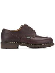 Paraboot Chunky Oxford Shoes Brown