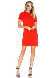 Demy Lee Maxton Sweater Dress Red