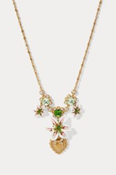 Dolce And Gabbana Flower Necklace