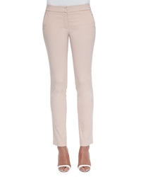Avenue Montaigne Barolo Stretch Flat Front Pants