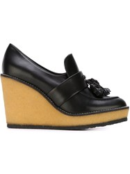 Robert Clergerie Wedge Loafers Black