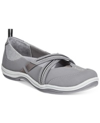 Easy Street Shoes Easy Street Sport Eva Flats Women's Shoes Grey
