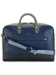 Furla Top Handle Briefcase Blue