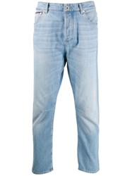Brunello Cucinelli Faded Effect Slim Fit Jeans 60