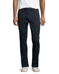 J Brand Jeans Brooks Slim Fit Chino Trousers Federal Blue