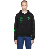 Off White Black Arch Shapes Hoodie