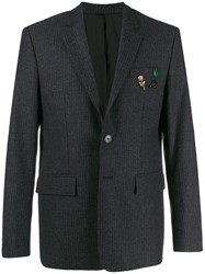 Zadig And Voltaire Pin Badge Blazer Black
