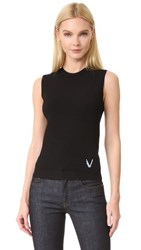 Versace Knit Top Black