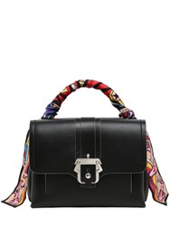 Paula Cademartori Petit Faye Leather Top Handle Bag