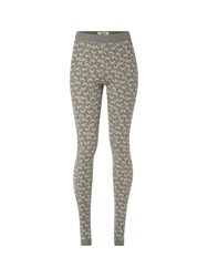 White Stuff Foxy Jaquard Legging Grey