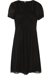 Marc By Marc Jacobs Pleated Silk Georgette Mini Dress