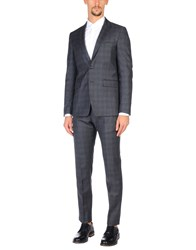 Mauro Grifoni Suits Steel Grey