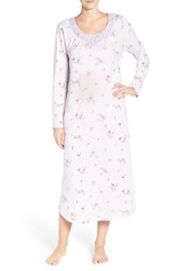 Carole Hochman Women's Print Cotton Nightgown