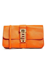 Liquorish Burnt Orange Chain Cross Body Bag Burntorange
