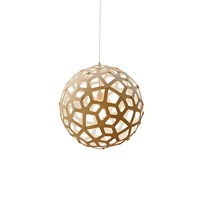 David Trubridge Coral Light Natural White 40Cm