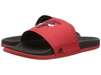 Adidas Adilette Chicago Bulls Vivid Red Black Red Men's Sandals Pink